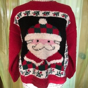 Wool Christmas Sweater S/M Bolivia